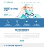 Medical Website  Template 48664