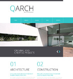 Architecture Website  Template 48665