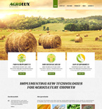Agriculture Joomla  Template 48672