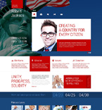 Politics WordPress Template 48674