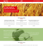 Agriculture WordPress Template 48675