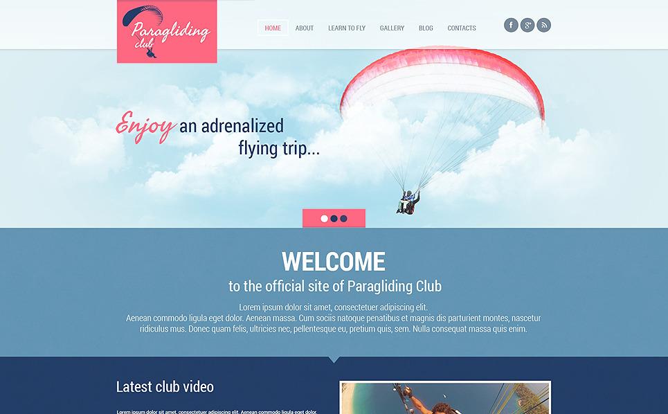 Responzivní WordPress motiv na téma Lední metaná, Curling New Screenshots BIG