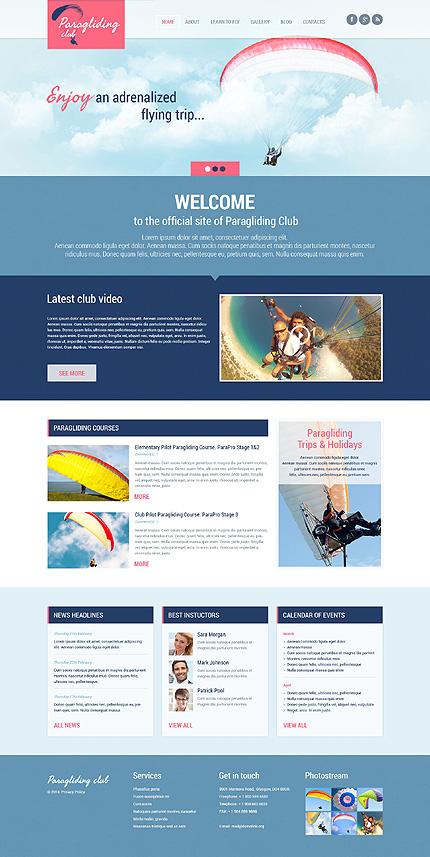 WordPress Theme/Template 48676 Main Page Screenshot