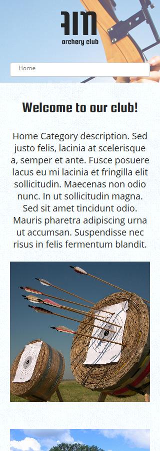 Joomla Theme/Template 48695 Main Page Screenshot