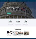 Politics Website  Template 48697