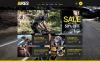 Адаптивный WooCommerce шаблон №48609 на тему велоспорт New Screenshots BIG