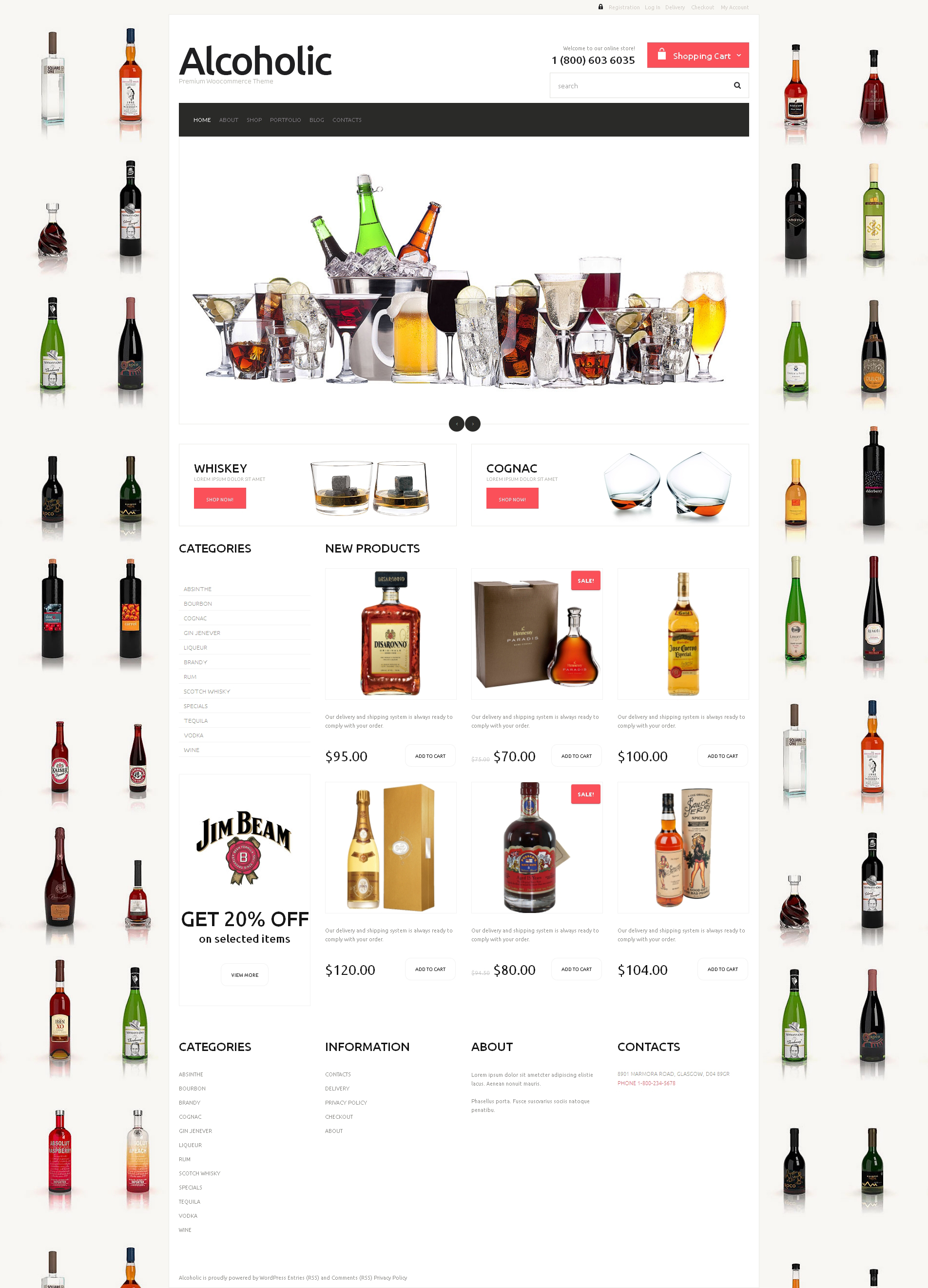 Cafe and Restaurant Responsive WooCommerce Theme