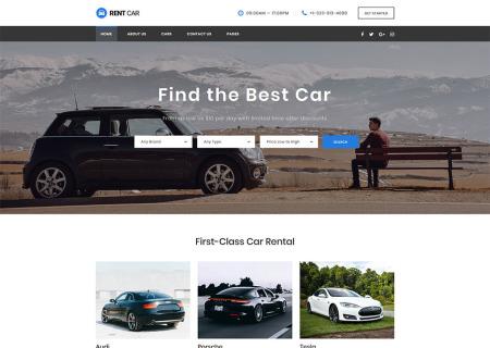 Car Rental Responsive