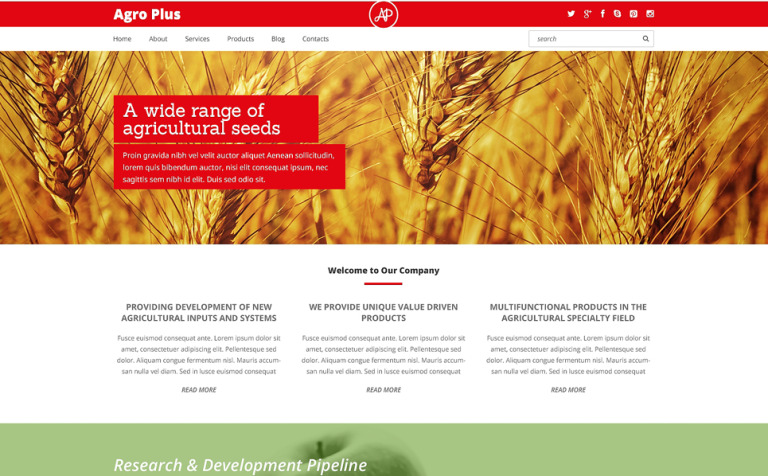 9 Agriculture WordPress Themes & Templates