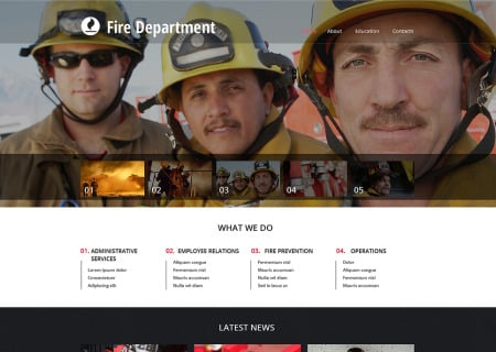 Fire Department Responsive