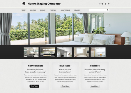 Home Staging Responsive