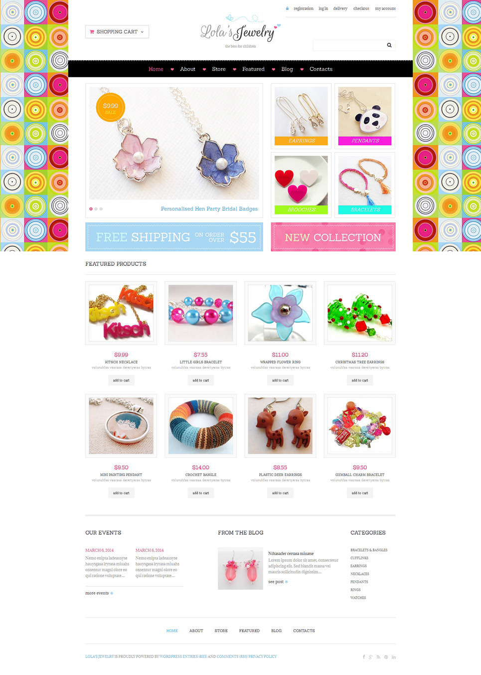 Jewelry Responsive WooCommerce Theme New Screenshots BIG