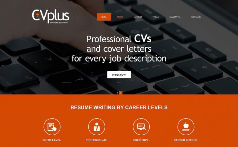 Marketing Agency Responsive Website Template