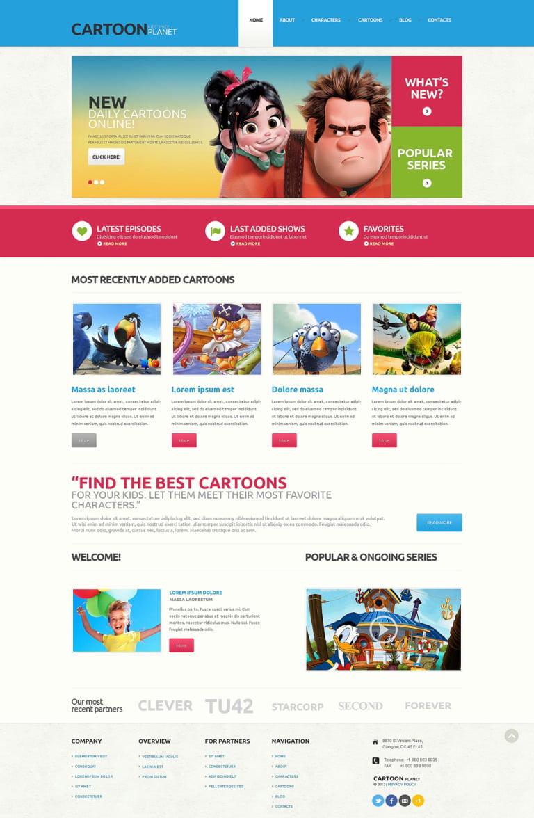 Movie Responsive WordPress Theme New Screenshots BIG
