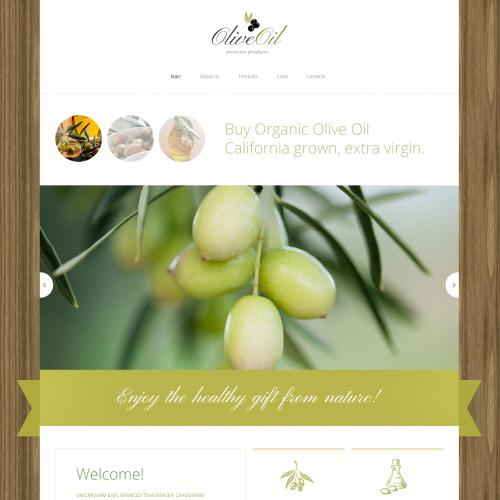 Olive Oil  - HTML5 Drupal Template