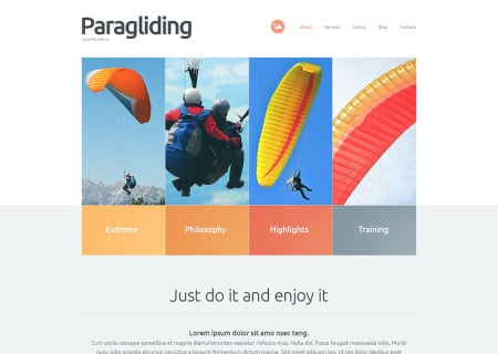 Paragliding Responsive