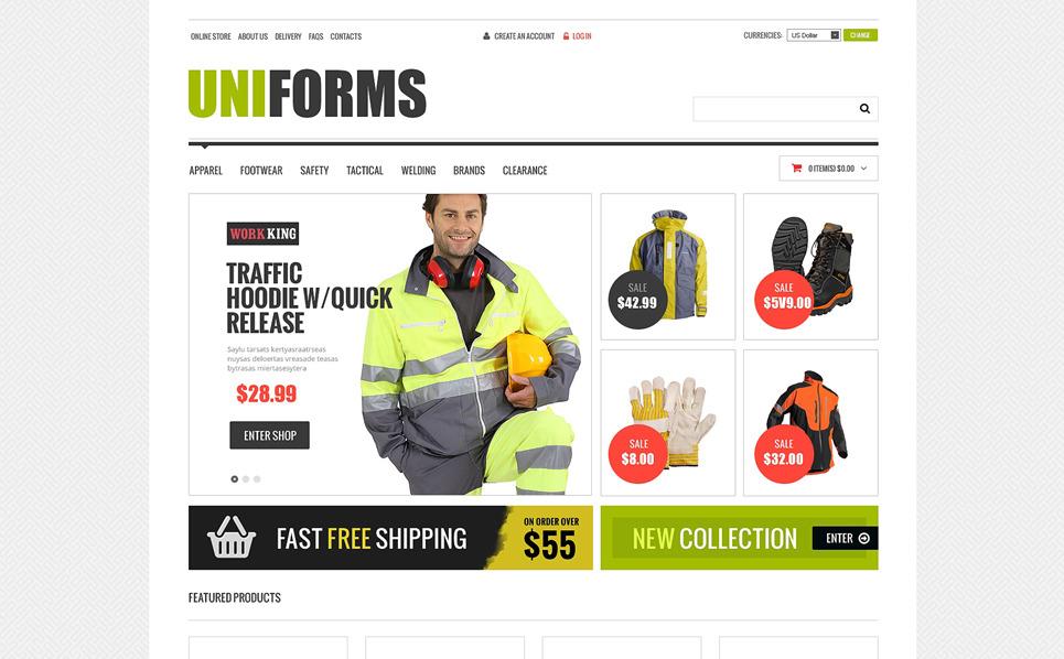 Plantilla VirtueMart #48631 para Sitio de Cuerpo de bomberos New Screenshots BIG
