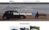 Plantilla Web para Sitio de Alquiler de coches