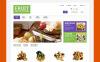 """PrestaShop шаблон """"Магазин фруктов и подарочных корзин"""" New Screenshots BIG"""