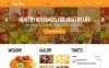 Responzivní Joomla šablona na téma Jídlo a nápoje New Screenshots BIG