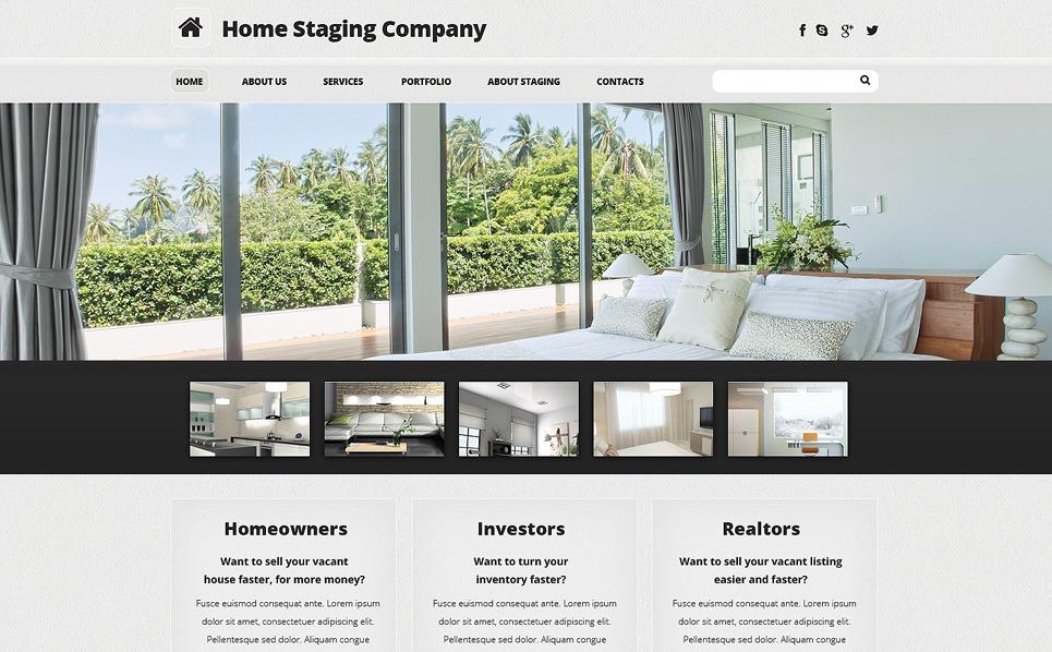 Responzivní Šablona webových stránek na téma Domácí výzdoba New Screenshots BIG