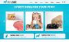 Reszponzív Állatkereskedés témakörű  Joomla sablon New Screenshots BIG