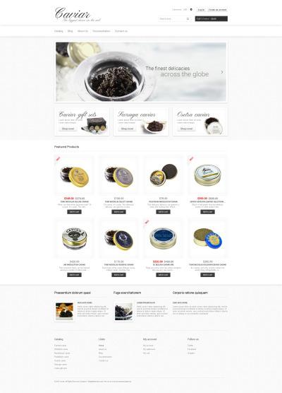Flexível temas Shopify  №48645 para Sites de Loja de comida