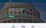 """Website Vorlage namens """"GoverFree - Government Multipage Clean HTML"""""""