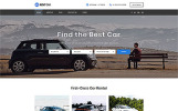 "Website Vorlage namens ""Rent Car - Well-Thought-Out Car Rental Multipage HTML"""