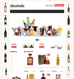 Food & Drink Jigoshop Template 48704