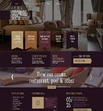 Hotels WordPress Template 48707