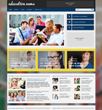 Education WordPress Template 48709