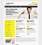 Computers Moto CMS HTML  Template 48726
