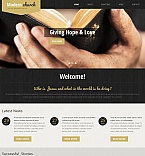 Religious Moto CMS HTML  Template 48728