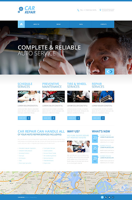Website Template #48731