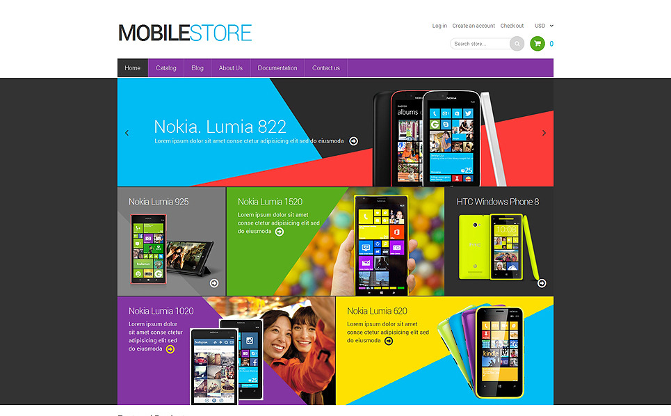 Responsives Shopify Theme für Handyladen  New Screenshots BIG