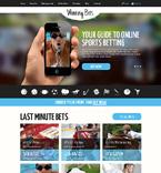 Casino Website  Template 48738