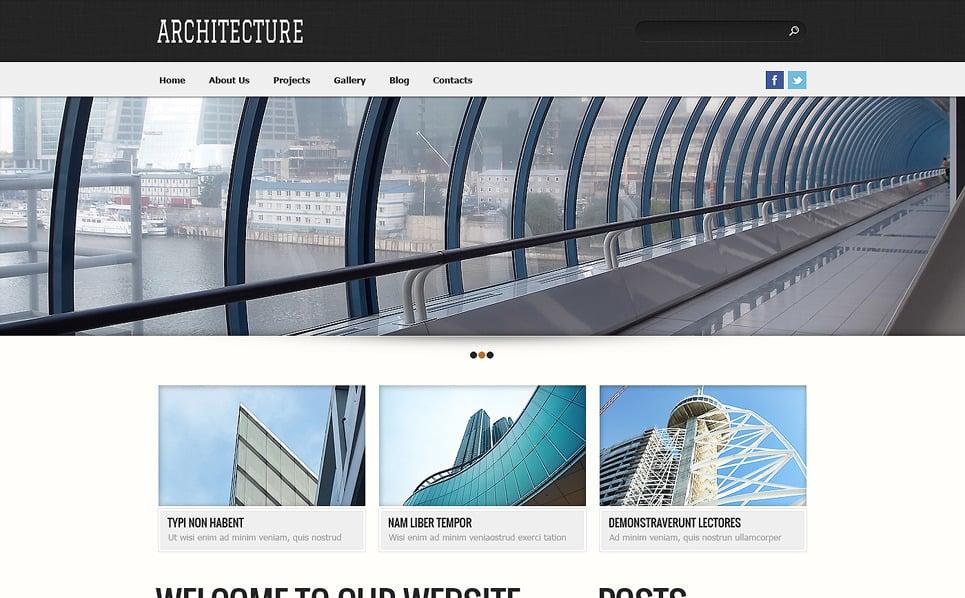 Template Siti Web Responsive #48739 per Un Sito di Società di Costruzioni New Screenshots BIG
