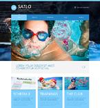 Sport Website  Template 48740