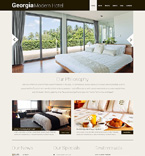 Hotels WordPress Template 48744