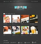 Web design WordPress Template 48745