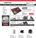 Computers VirtueMart  Template 48748