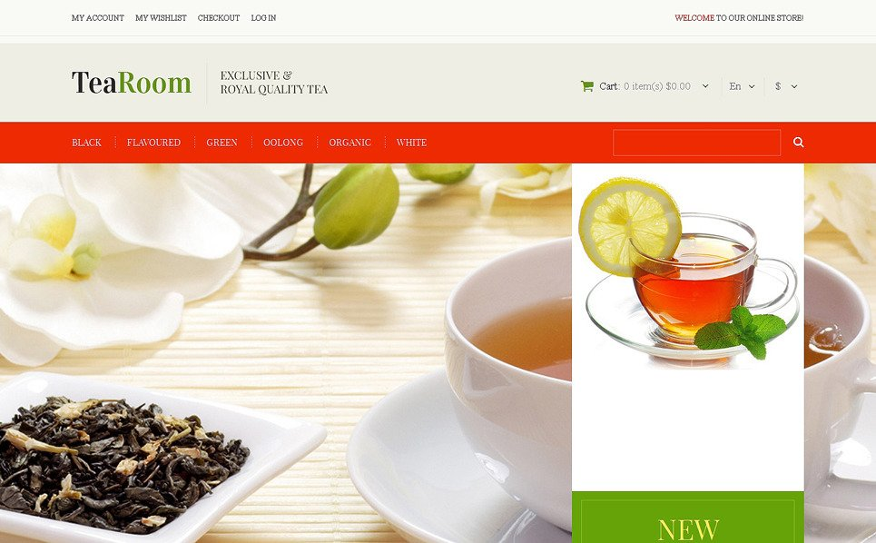 Reszponzív Teabolok Magento sablon New Screenshots BIG