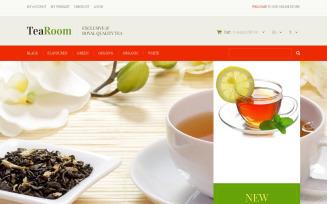 Quality Tea Magento Theme