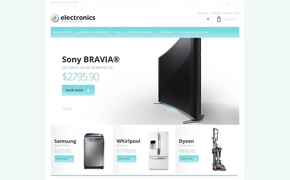 Responsive Elektronik Mağazası  Magento Teması New Screenshots BIG
