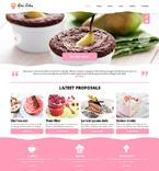 Cafe & Restaurant Joomla  Template 48763