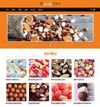 Food & Drink Joomla  Template 48764