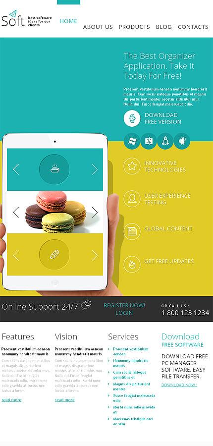 Joomla Theme/Template 48765 Main Page Screenshot