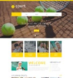 Sport Website  Template 48770