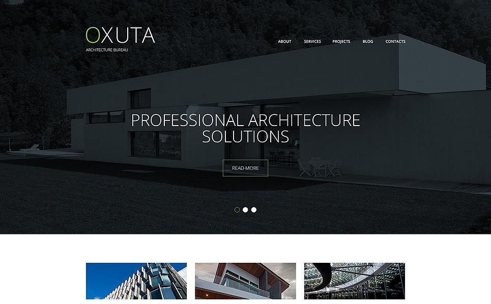 Tema Siti Web Responsive #48771 per Un Sito di Architettura New Screenshots BIG